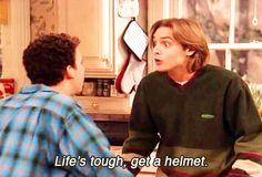Life's tough, get a helmet