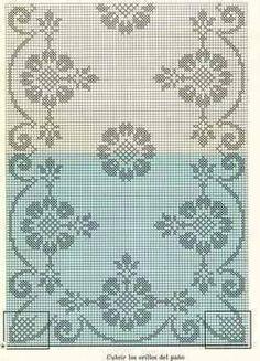 Home Decor Crochet Patterns Part 35 - Beautiful Crochet Patterns and Knitting Patterns Crochet Table Runner, Crochet Tablecloth, Crochet Doilies, Doily Patterns, Cross Stitch Patterns, Knitting Patterns, Crochet Patterns, Filet Crochet Charts, Fillet Crochet