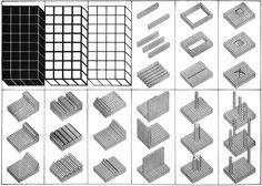 Superstudio, Istogrammi d'architettura, 1969  Superstudio Drawing Architecture