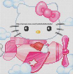 Sei alla ricerca di schemi a punto croce Hello Kitty? Ti piacerebbe ricamare il corredino per i tuoi bambini a punto croce? Arte del Ricamo ha selzionato per te i migliori schemi a punto croce gratuiti presenti sui blog delle nostre amiche ricamatrici.