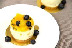 Mini Passionfruit Cheesecake