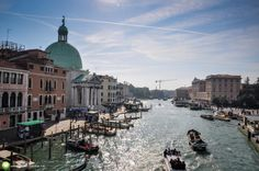 Canale Grande, Venetia Grand Canal, Venice, New York Skyline, Places, Travel, Italia, Viajes, Venice Italy, Destinations
