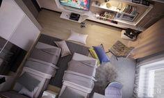 Gray Teen Room