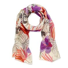 orchid isle scarf