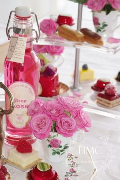 "Girly pretties : The Most Fragrant Roses Party ""La vie en rose"""