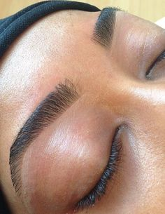 Another fabulous work of art  Brows by Kelley Baker