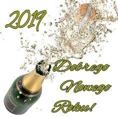 Kartka świąteczna 🍷🍷🍷 Happy New Year, Drinks, Drinking, Beverages, Drink, Happy New Year Wishes, Beverage