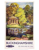 click to view Buckinghamshire - Waterway surrounding Pavillion