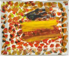 Howard Hodgkin,autumn in Bombay. oil on wood Tia collection. At the Hepworth Wakefield. Abstract Painters, Abstract Art, Hepworth Wakefield, Howard Hodgkin, 1970s Art, Victoria Art, Hans Peter, Modern Artists, Printmaking