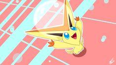 victini pokemon fanart bubble cute happy legendary mythical chibi