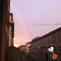#after the #rain. #rainbow in #milan! #love it!  #saturday #milano we are #workinghard #webstagram #website #logo #design #marketing #branding #agency #picoftheday #bestoftheday #phooftheday #follow #vscocam #womboit