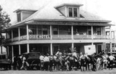 Texas Hideout Bonnie and Clyde   , Texas, the Dixie Hotel, built in 1915was a rest stop where Bonnie ...
