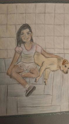 dibujo de mi amiga Olivia