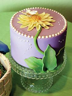 Sweet Pea cheesecake