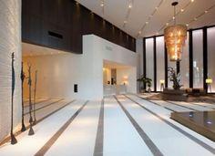 modern lobby hotel interior reception designs