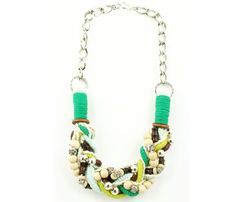 Amazonas Threaded Necklace - fun for March!