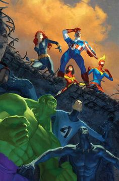 The Avengers All New!!