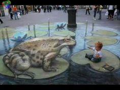 Desene 3 D pe asfalt pictures str 3d by  karlos