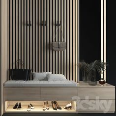 models: Wardrobe & Display cabinets - Composition in the Home Entrance Decor, House Entrance, Home Decor, Room Partition Designs, Hallway Designs, Beautiful Interior Design, Modern Interior Design, Home Room Design, House Design