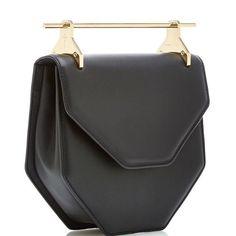 M2malletier Amor/Fati Cross Body Leather Bag