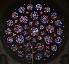 St Alban's Rose window