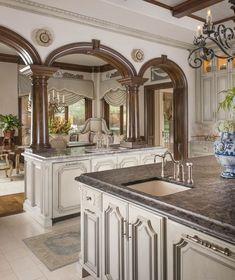 Best Best Trends in Kitchen Design Ideas for 2019 Part 38 - Wohnen - Kitchen Tools Elegant Kitchens, Luxury Kitchens, Beautiful Kitchens, Home Kitchens, Luxury Kitchen Design, Best Kitchen Designs, Home Decor Kitchen, New Kitchen, Kitchen Island