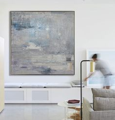 Handmade Large Contemporary Art Canvas Painting, Original Art Acrylic Painting, Abstract Canvas Artt - By Biao, Celine Ziang Art