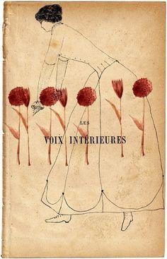 Les Voix Interieures Print  by Iris Schwarz