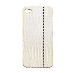 re-claimed fire hose iphone cover