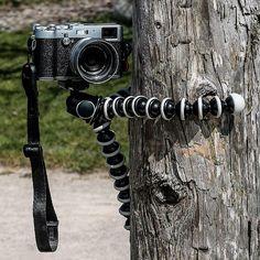 El trípode flexible para cámaras réflex