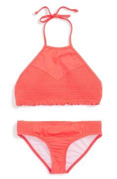 1deec1c8fa21a Billabong Smocked Two-Piece Swimsuit (Little Girls & Big Girls) | Nordstrom