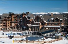 While only 80 miles from downtown Denver, the Grand Lodge on Peak 7 feels a world away! #Breckenridge #GrandLodgeonPeak7