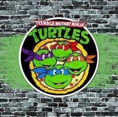 "I had a ""blast from the past"" preparing my son Oskar's birthday. Teenage Mutant Ninja Turtles was one of my brother's favorite carto..."