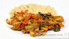 Asijská kuřecí čína na víně s kuskusem Kung Pao Chicken, Recipies, Food And Drink, Treats, Ethnic Recipes, Vietnam, Youtube, Cooking, Mexico