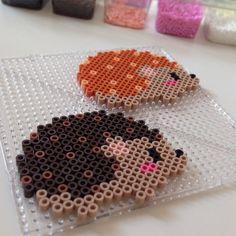 Hedgehogs perler beads by lemurenart                                                                                                                                                     More