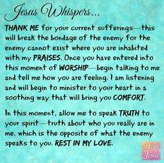 Jesus Whispers