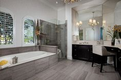 Isabella II at Mediterra - contemporary - Bathroom - Other Metro - London Bay Homes