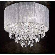 Franklite Royale | Translucent Silver Ceiling Light | FL2281/4
