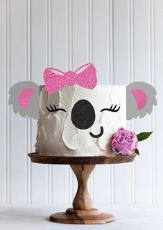 6th Birthday Parties, Birthday Cake Girls, Birthday Party Decorations, Baby Birthday, Birthday Ideas, Gateau Baby Shower, Animal Cakes, Bear Party, Bear Cakes