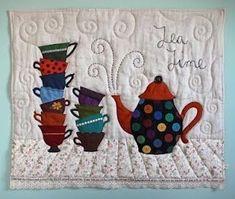 아침에 커피 한 잔과 함께 종이컵에 담긴 커필 #자수 에 수 놓은 #커피잔 이라 생각하며 구글링해서 긁어 ...
