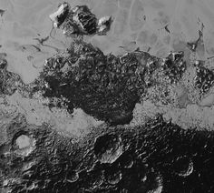 NASA has released the latest images from New Horizons' historic Pluto flyby, which reveal the dwarf planet's stunning range of surface features.
