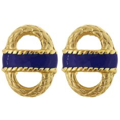 Enamel Basket Earrings | Fornash