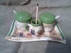 Resultado de imagen para juego de mate en ceramica Sugar Bowl, Bowl Set, Clay, Ceramics, Deco, Crafts, Enamel, Pottery Pots, Ceramic Tableware