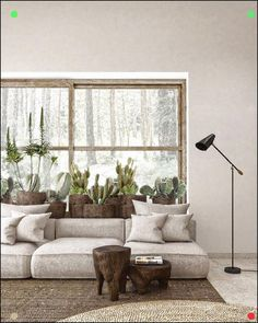 One easy and fun way to interior design your home is by caring for houseplants. Never think that interior designing … Interior Design Your Home, Interior Design Inspiration, Interior Design Living Room, Living Room Designs, Zen Living Rooms, Living Room Decor, Zen Interiors, Gris Rose, Simple House