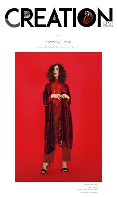 Editorial RED en CREATION Mag con kaftan Lebor Gabala, noviembre 2017.