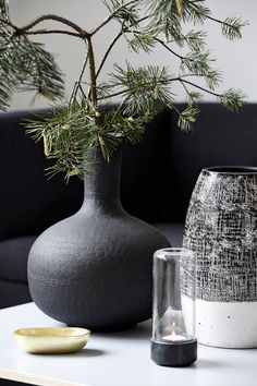 L'art floral japonais House Doctor, Home Interior Design, Interior Styling, Interior And Exterior, Interior Decorating, Ikebana, Art Floral Japonais, Black And White Vase, Pine Branch