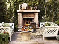Outdoor Areas, Outdoor Rooms, Outdoor Walls, Outdoor Living, Outdoor Decor, Outdoor Mirror, Lakeside Living, Outdoor Retreat, Outdoor Kitchens
