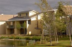 Contemporary lakeside home in private Cotswolds nature reserve Holiday Rental in Lower Mill Estate from Log Fires, Indoor Swimming Pools, Nature Reserve, Home And Away, Terrace, Cottage, Mansions, House Styles, Balcony