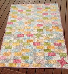 Katy's amazing - would make a great baby quilt