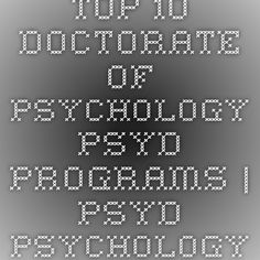 Whats the difference between a Ph.D. & Psy.D in psychology?